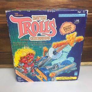 Vintage Hasbro Battle Trolls Bulls Eye Capture Net